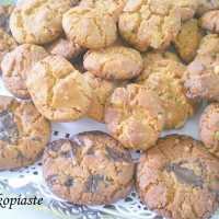 Honey, Peanut butter, Chocolate and Pastelli Cookies – Lakonia Part II
