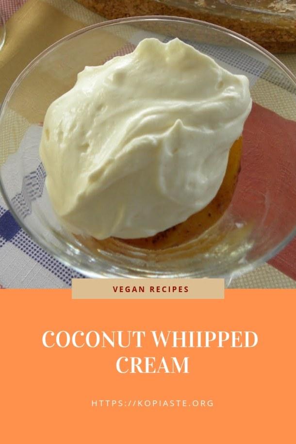 Collage Vegan Coconut Frosting image