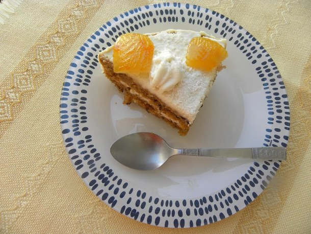 Vegan Carrot and Banana Cake cut image