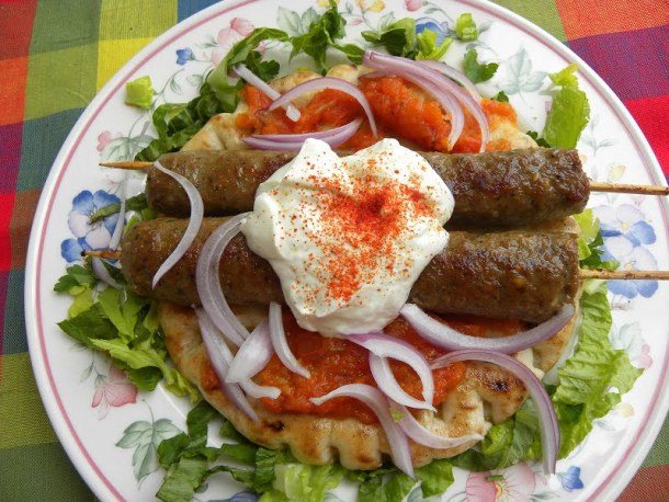 Yiaourtlou kebab picture