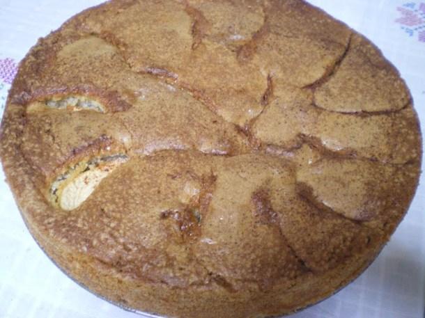 apple cake baked image
