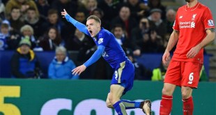 Leicester 2 Liverpool 0