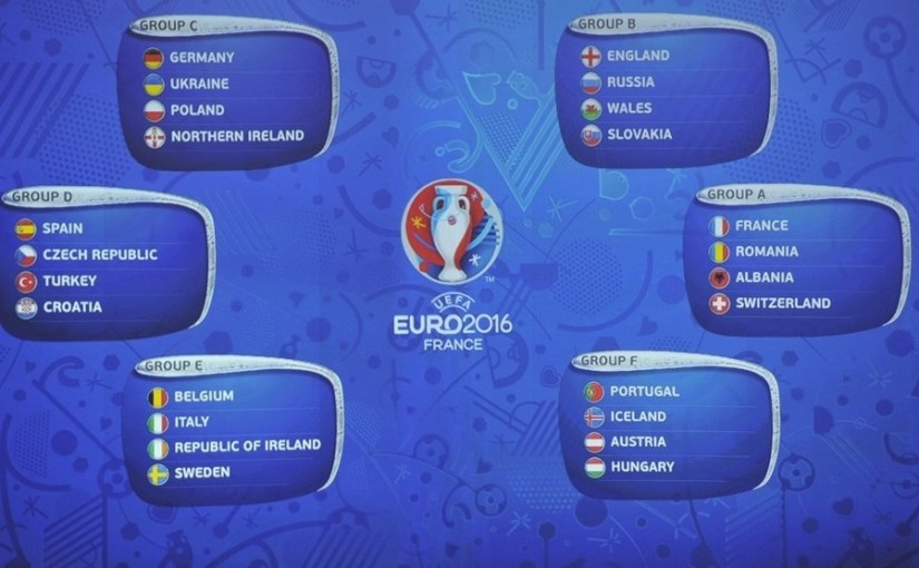 Uefa Euro 2016: Fixture list for all 24 of the countries competing for the European Championship in France