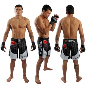 Fight Shorts CAGE Black