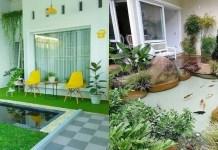 Bawa Kedamaian Bagi Penghuninya, Inilah Desain Taman Kolam Belakang Rumah Minimalis 2019