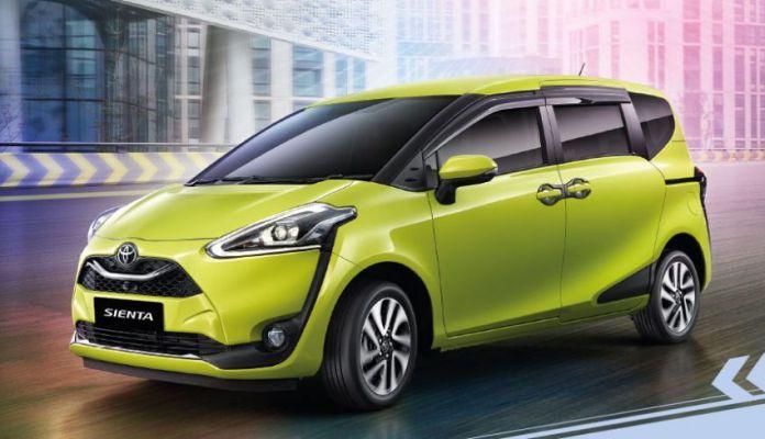 Keistimewaan Spesifikasi Toyota Sienta Facelift 2019