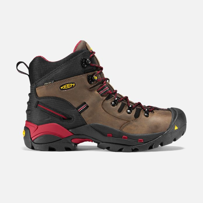Keen Men's Pittsburgh 6″ Boot (Soft Toe)