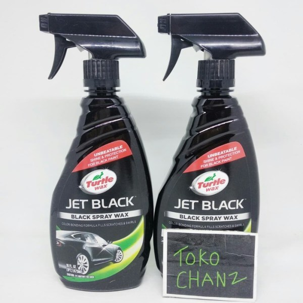 Turtle Wax JET BLACK Black Spray Wax