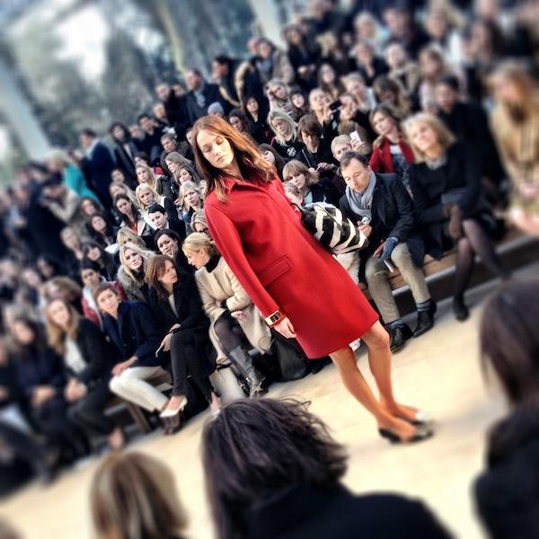 London Fashion Week - Trench Kisses