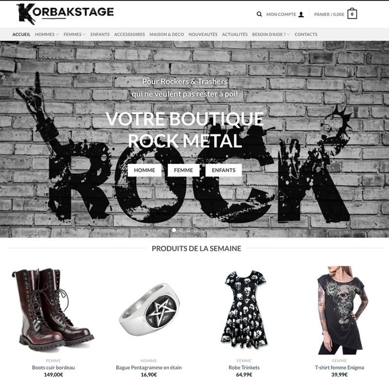 Bienvenue sur notre site korbakstage