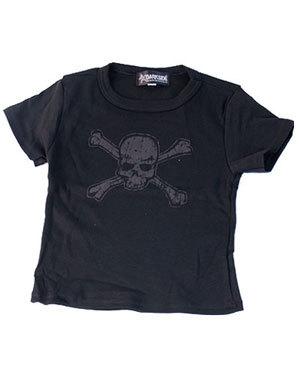 T-shirt Distressed Skull Enfant