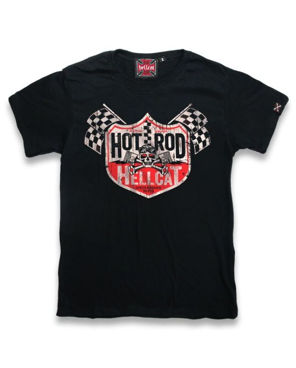 T-shirt Hot Rod Hellcat Decal Enfant Noir