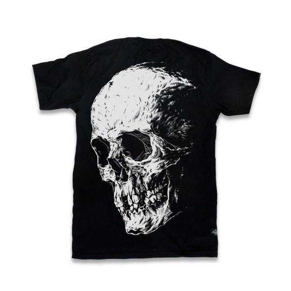 T-shirt Noir Crâne Design Death