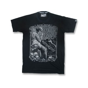 T-shirt Noir Tattooed Lady