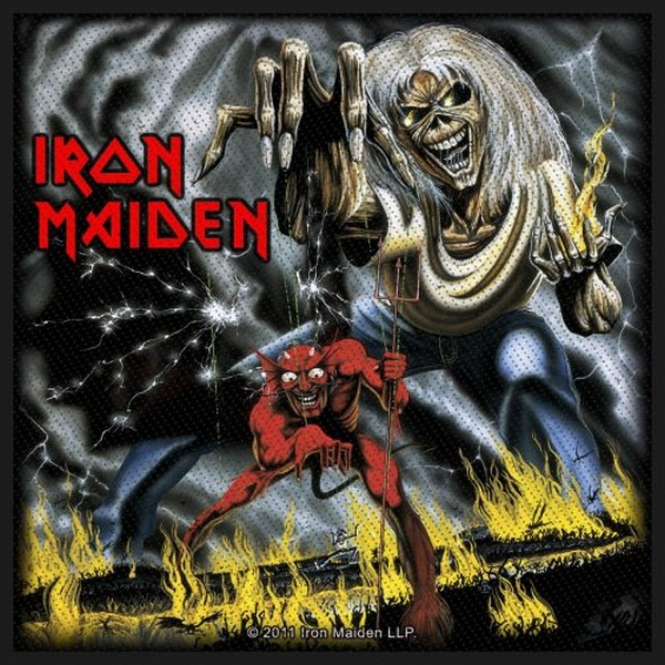 Patch Iron Maiden Number Of The Beast