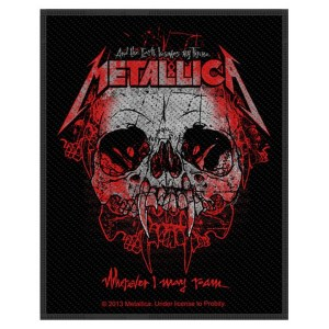 Patch Metallica Wherever I May Roam