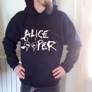 Sweat Capuche Alice Cooper Eyes Logo