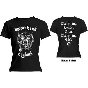 T-shirt Motörhead Girly England