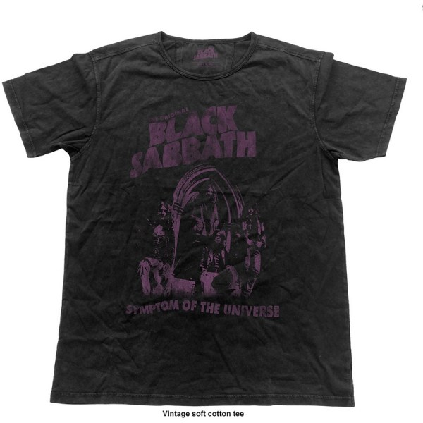 T-shirt Black Sabbath Symptom of the Universe Vintage