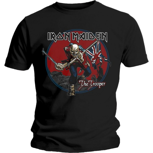 T-shirt Iron Maiden Trooper Red Sky