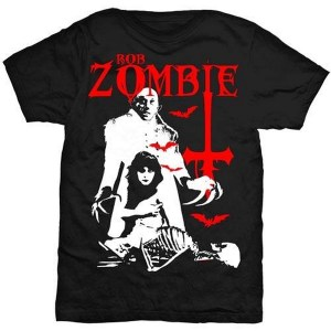 T-shirt Rob Zombie Teenage Nosferatu Pussy