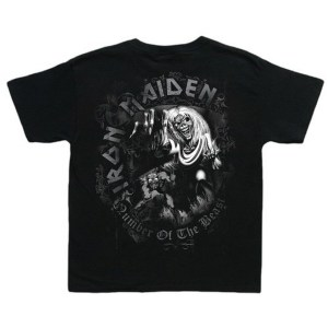 T-shirt Enfants Iron Maiden Number Of The Beast