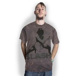 T-shirt Slash Snow blind Gris Délavé