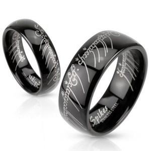 bague noire seigneur des anneaux