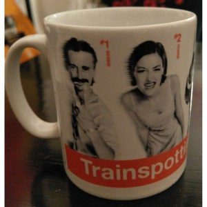 Mug Trainspotting 5 Personnages Sous License
