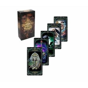Jeux de cartes de tarot illustré