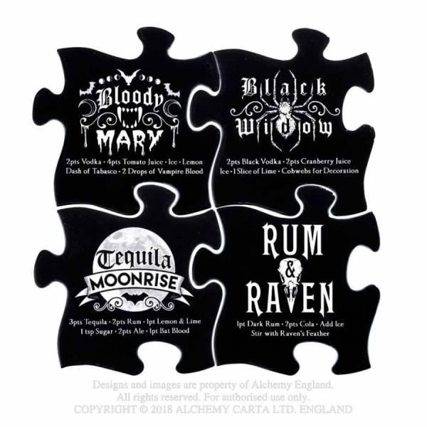 Puzzle Gothic cocktail