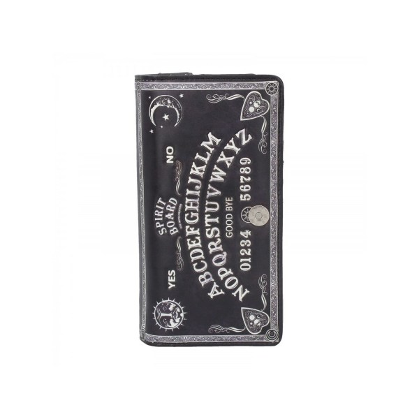 Grand Portefeuille Ouija Board Noir