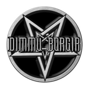 Pin's Dimmu Borgir Pentacle Licence Officielle