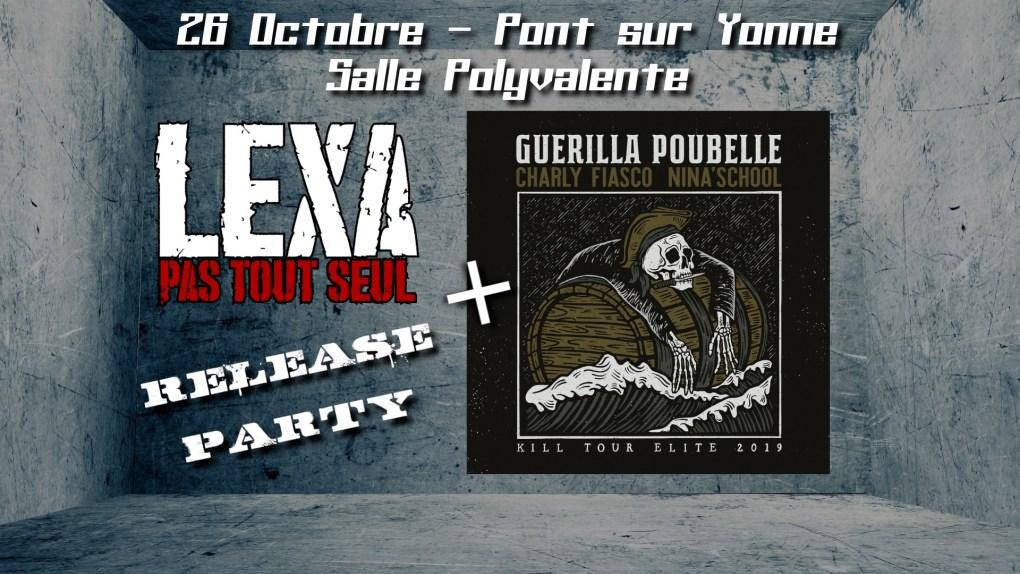 Soirée PYHC - Guerilla Poubelle - Pont sur Yonne 89
