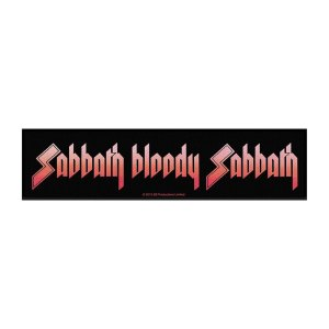 Patch Black Sabbath Licence Sabbath Bloody Sabbath