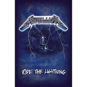 Drapeau Metallica Ride The Lightning