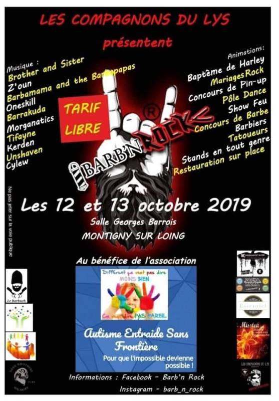 BARB N ROCK III Autisme Entraide Sans Frontière