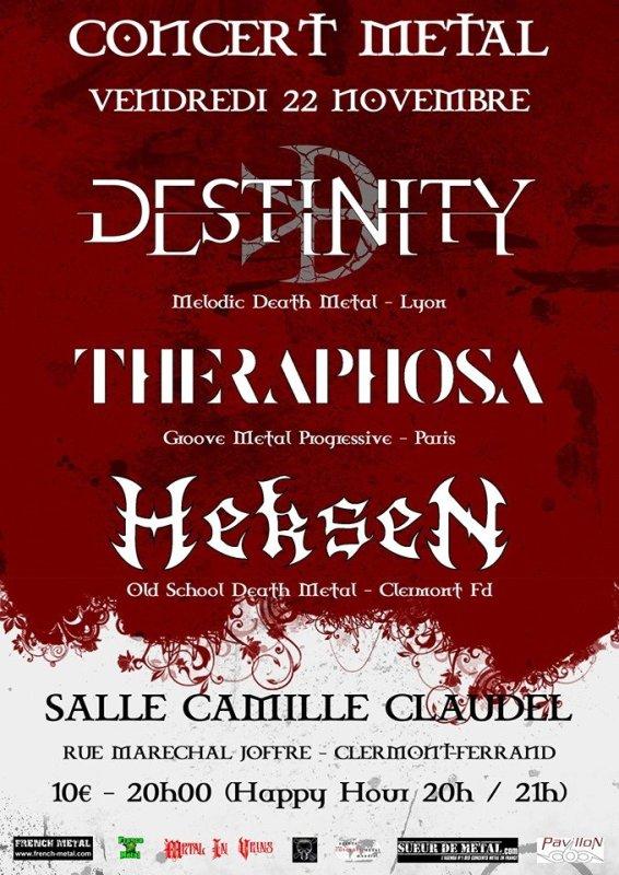 DESTINITY THERAPHOSA HEKSEN Clermont