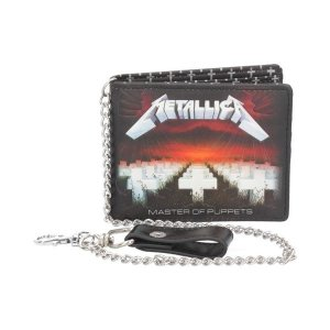 Portefeuille Metallica Master of Puppets avec Chaine
