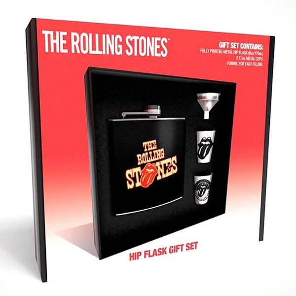 Coffret Flasque Whisky The Rolling Stones