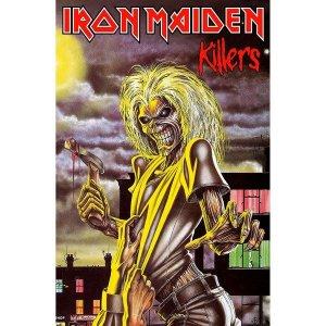 Drapeau Iron Maiden Killers Sous Licence
