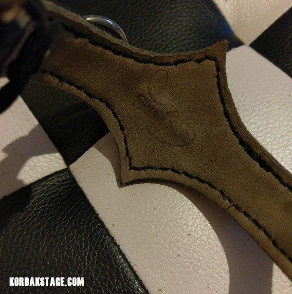 Bracelet Gothic Cuir Noir