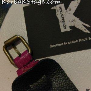 Bracelet Enfant Cuir Rose