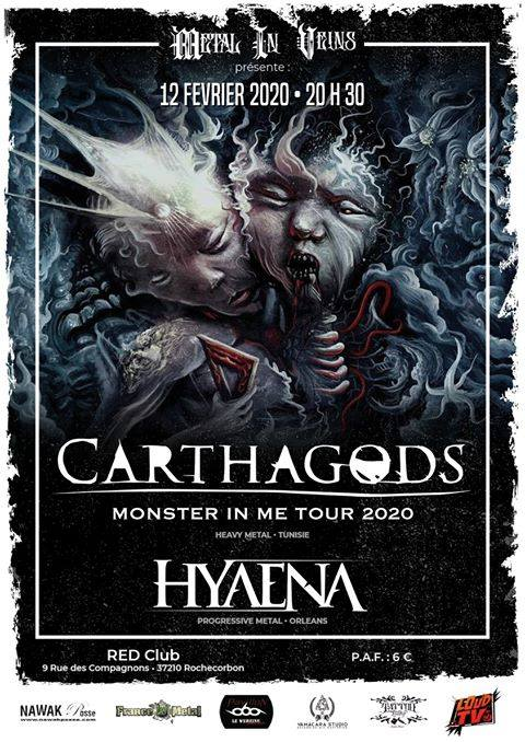Carthagods • Hyaena au Red Club 37