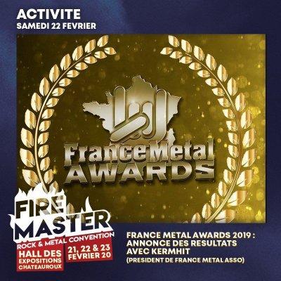 ACTIVITE : FRANCE METAL AWARDS