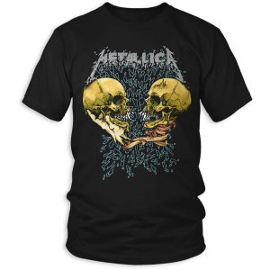 T shirt Metallica Sad But True