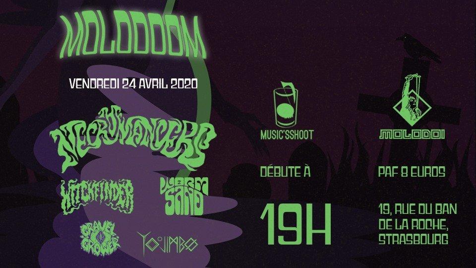 Molodoom avec Witchfinder - The Necromancers