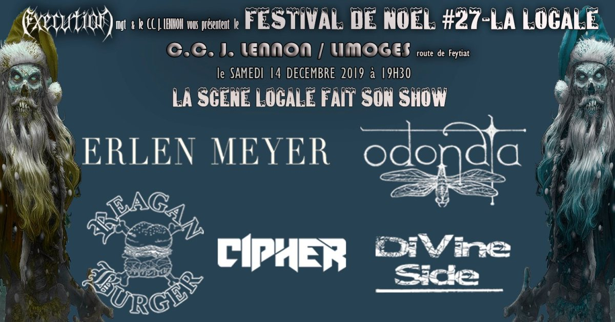 La Locale Festival Metal de Noël de Limoges