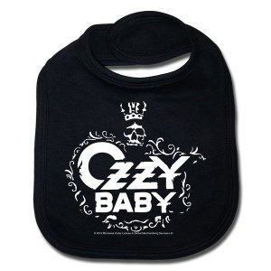 Bavoir Ozzy Osbourne Baby sous licence