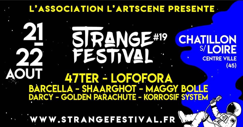 StrangeFest XIX les 21 et 22